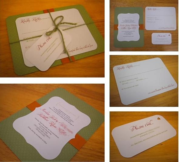 Our DIY Invitation Suite