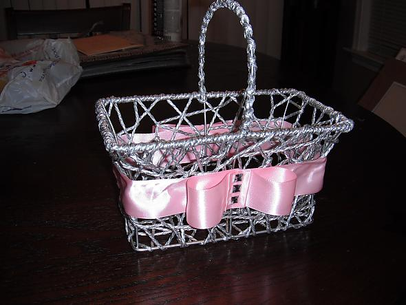 $7 Flower Girl Basket