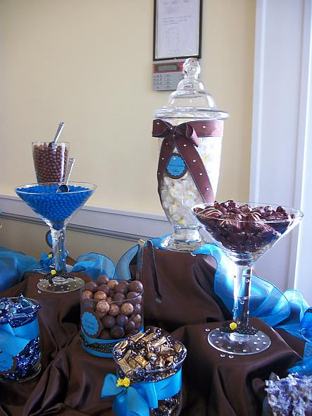 My wedding candy buffet, how wonderf