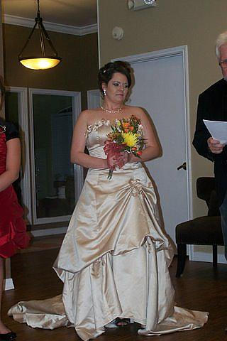 My Wedding Vow Renewal dress Hubby and I renewed our vows on our 15th