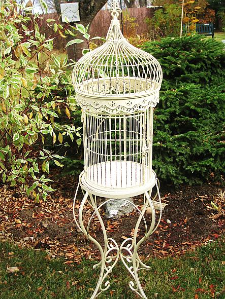 I found this beautiful birdcage to use as a cardholder at my 2011 wedding