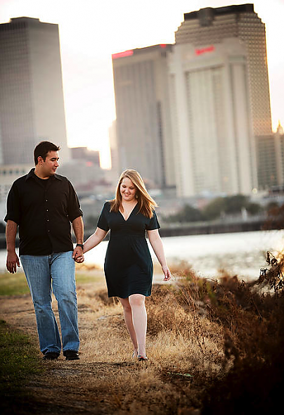 New Orleans Engagement Picture