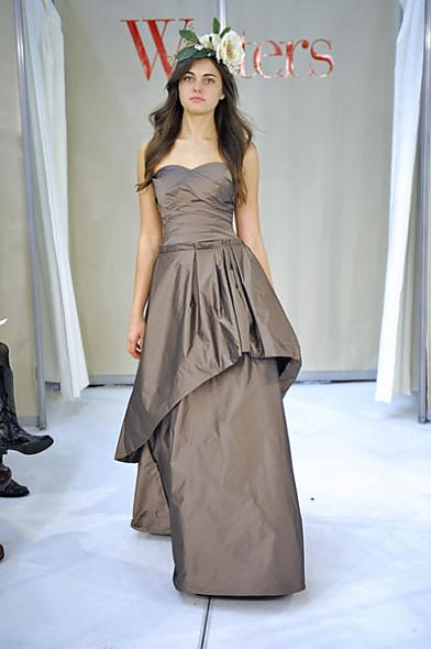 Watters Fall 2011 Bridesmaid Dress