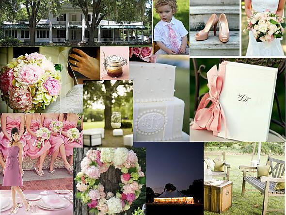 Southern Vintage Romance PinkGreenGold posted by southernbride10 1 year