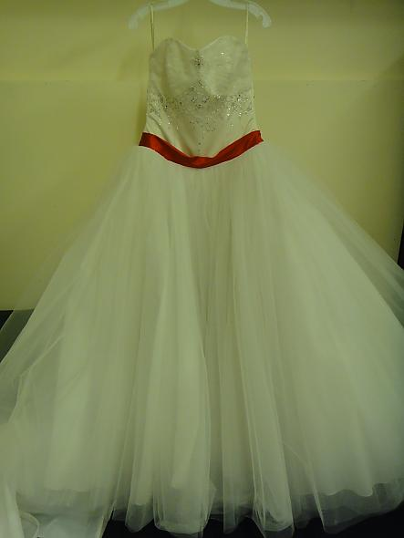 wedding dress reconstructured