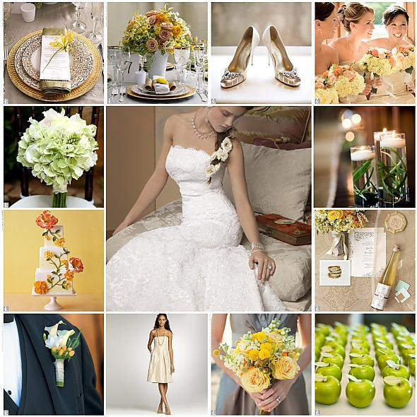 Our Vintage Romance Wedding Inspiration Board for our August 13th wedding