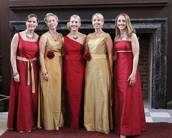 Golden Colour Wedding Gowns: Prom Dresses Sale: Bridesmaid Dresses- Colors To Avoid Red