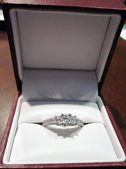 My beautiful engagement ring in the