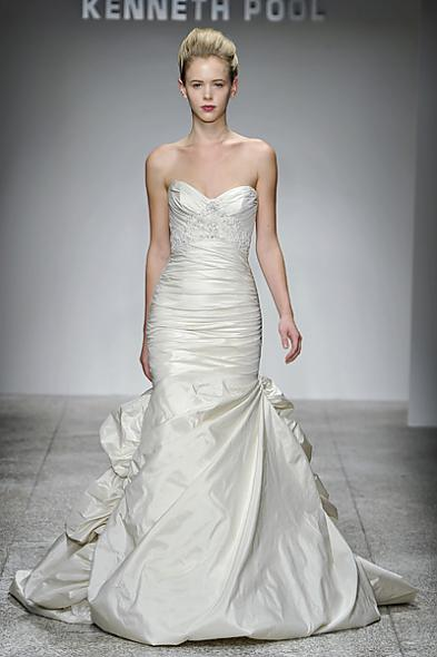 Kenneth Pool Fall 2011 Wedding Gown