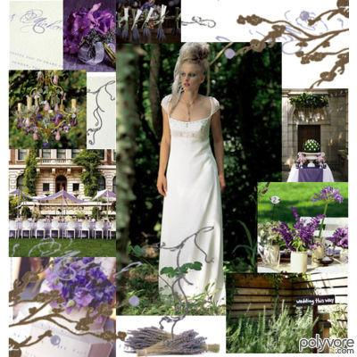 Gothic Princess Wedding purplewhiteandgreen Polyvore inspiration board