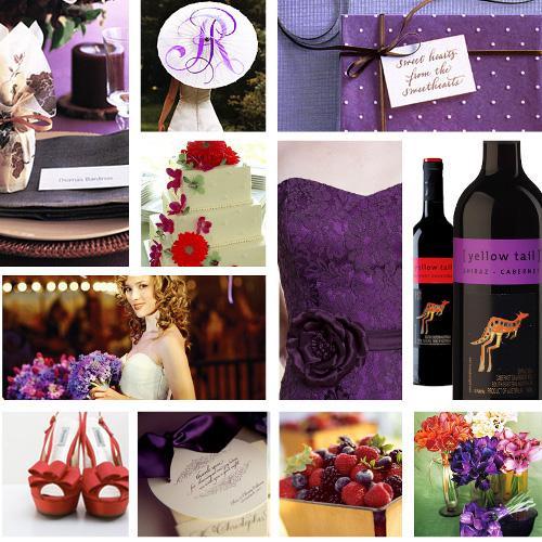 Table setting bouquets umbrella and favor box Rebecca Thuss