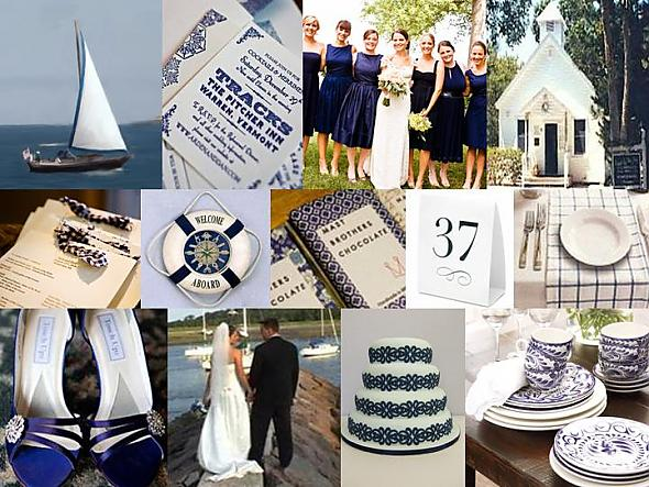 Something Blue: Nautical Nuptials