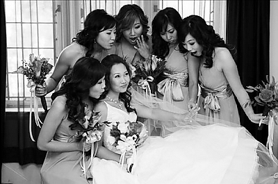 Mrs. Caramel's Bridesmaids