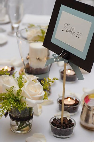 Mrs. Caramel's Table Decorations