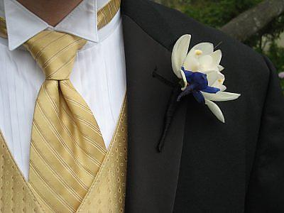 Mrs. Lemon's Boutonniere