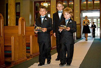 Mrs. Radish's Junior Groomsmen
