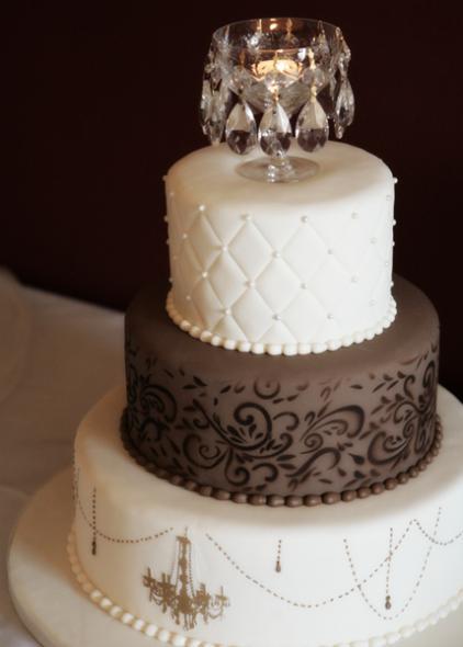 Mrs Flamingo 39s Chandelier Cake Closeup