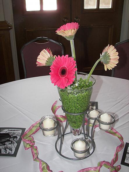 Unique Gerber Centerpiece
