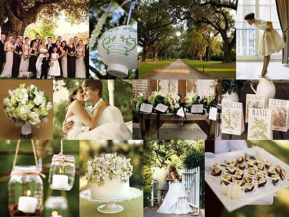 The beautiful backyard wedding ideas preweddings and weddings - Garden wedding decorations pictures ...