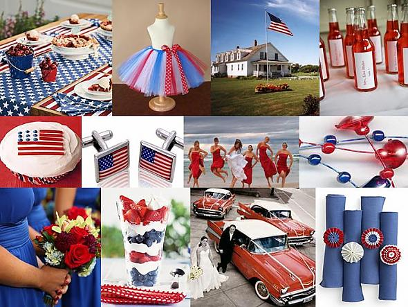 Happy 4th of July: Red, White & Blue