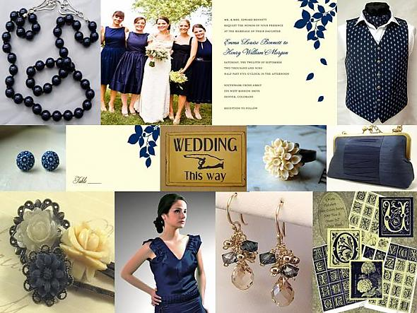 The Perfect Palette Navy Blue Ivory Posted 2 years ago by The Perfect