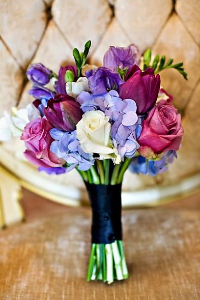 Lavender Bridesmaid's Bouquet