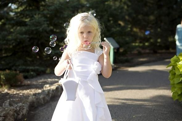 The flowergirl dress, equipped with