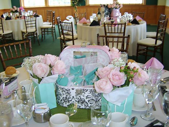 Centerpieces from my Bridal Shower