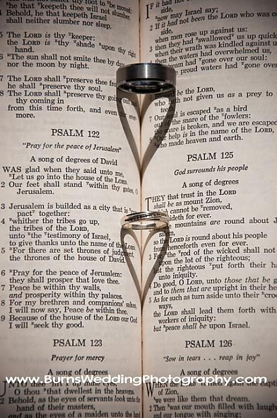 Ring Hearts in a Bible