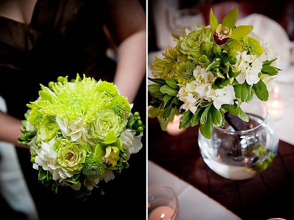 wedding bouquets with hydrangeas