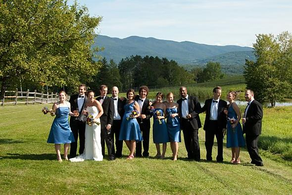 Wedding Party - Vermont-style