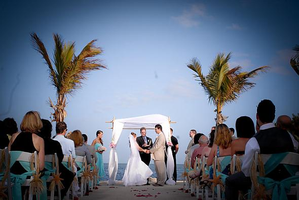 Ceremony on the ocean