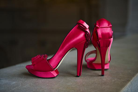 My hot pink shoes