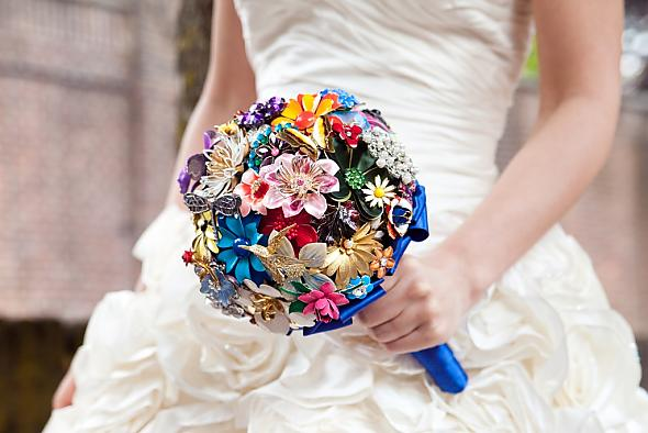 My brooch bouquet