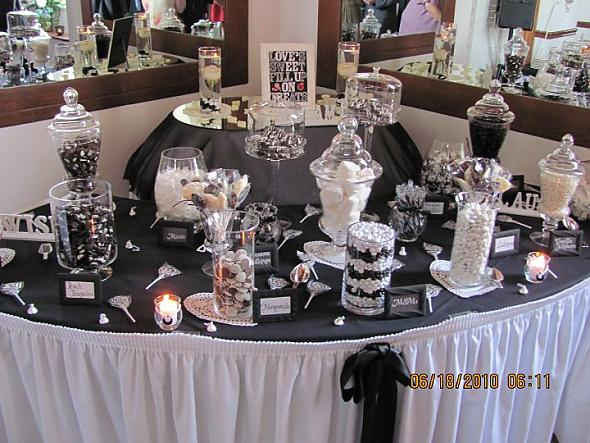 Our Black And White Candy Buffet Posted By Blueshoes2 1 Year Ago