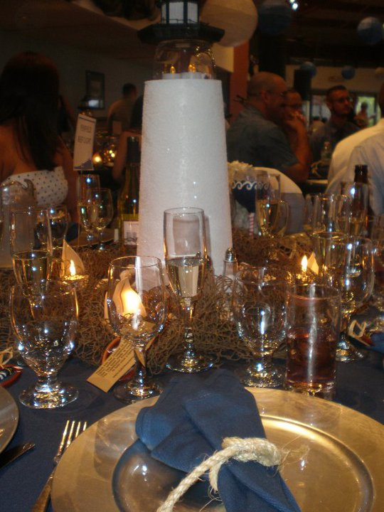 Our Lighthouse Centerpiece Weddingbee Photo Gallery