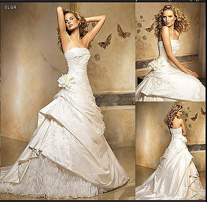 Wedding Dress Sales on Pronovias Olga Wedding Dress For Sale    Weddingbee Gallery