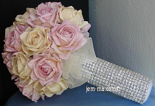 my BLING bouquet style