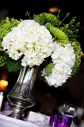 Romantic vintage centerpieces